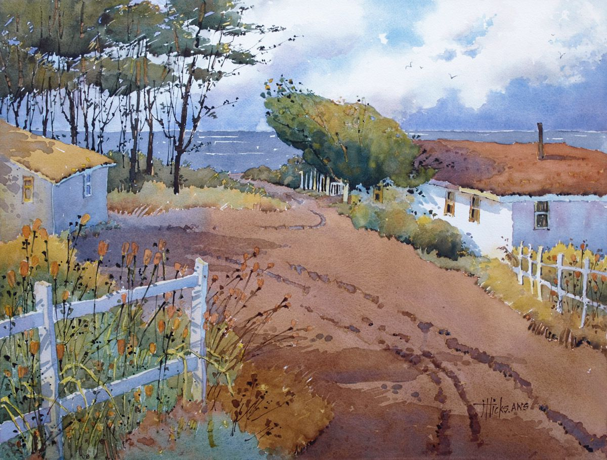 Watercolor West Reciprocal Cash Award $250