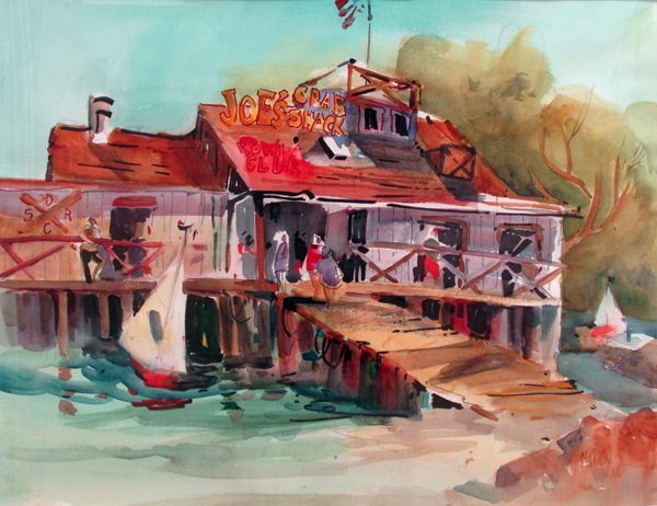 Honorable Mention - Joe's Crab Shack by June Maxion