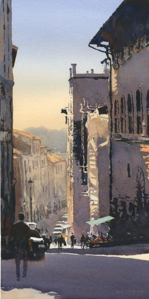 SDWS Board of Directors Award,  Watercolor West Reciprocal Award,  - Arezzo by Michael Reardon