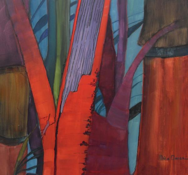 Red Bamboo by Alice Owen