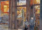 Watercolor West Reciprocal Award - Night Deli by John Salminen