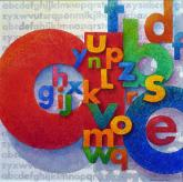 Jack Richeson and Co. Award, Dr. PH Martin's Award - Alphabet by Eileen Neill