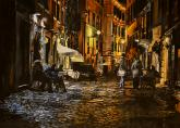 David M. Thayer Memorial Award,  - A Late Evening Stroll in Rome by Richard Hanson