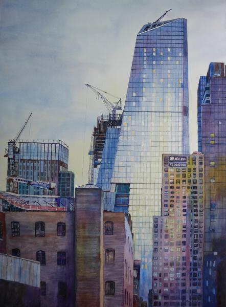 Constructions in New York City 2 by Keming Chen