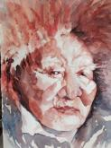 Honorable Mention - Athabaskan Elder by Beverly Berwick