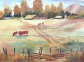 Autumn Pastures by Susan Wormsley