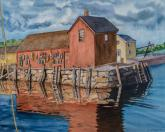 Massachusetts Seaport by Carol Roberts