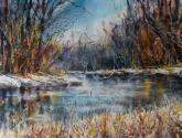 Winter River by Bruce Swart