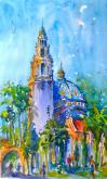 The California Buildings in Plein Air by Jami Wright
