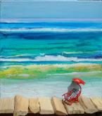 Beach Chair by Carol Mansfield