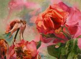 I Love Roses by Marcella Martin