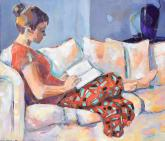 Honorable Mention - Studying in Comfort by Vi Gassman