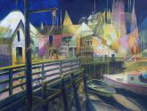 Honorable Mention - Harbor Lights by Chuck McPherson