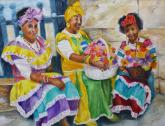 Havana Ladies, 3 Generations by Angela Westengard