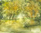 Autumn Pool by Susan Weinberg-Harter