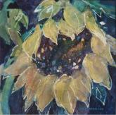 Midnight Sunflower by Joan McKasson