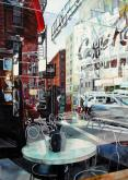 Honorable Mention - Caffe Reflection by Robin Erickson