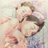 Naptime by Hiroko Fisher