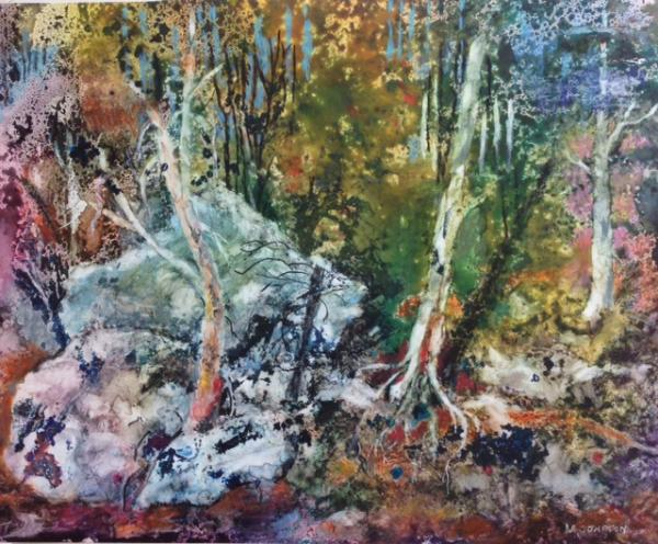 Hot Springs Woods by Mary Sue Compton