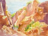 Kolob Canyon by Sue Gold