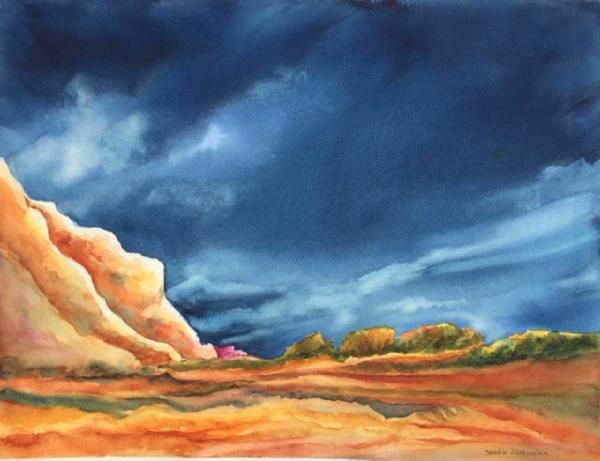 Imminent Storm by Sandra Seckington