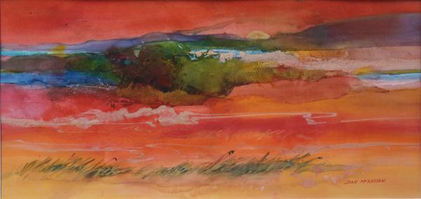 Sunset Tidelands by Joan McKasson