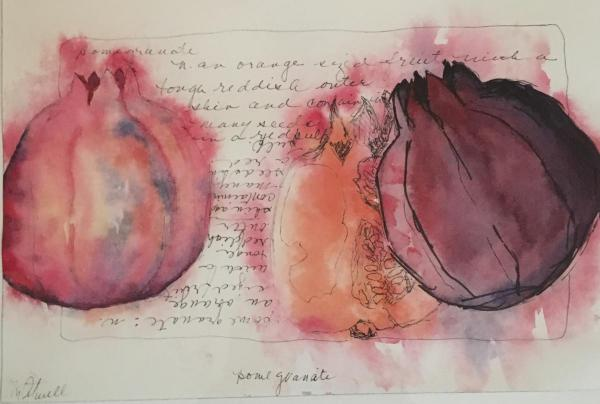 Pomegranates by Marty Atwell