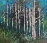 Park City Aspens by Joan McKasson