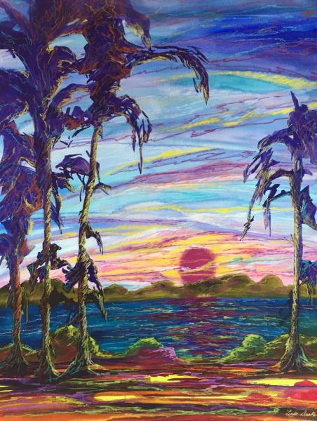 Tropical Evening by Linda Drake