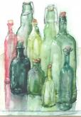 Bottle Collection by Susan Weinberg-Harter