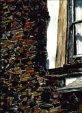Window with Chimney by Vykki Mende Gray