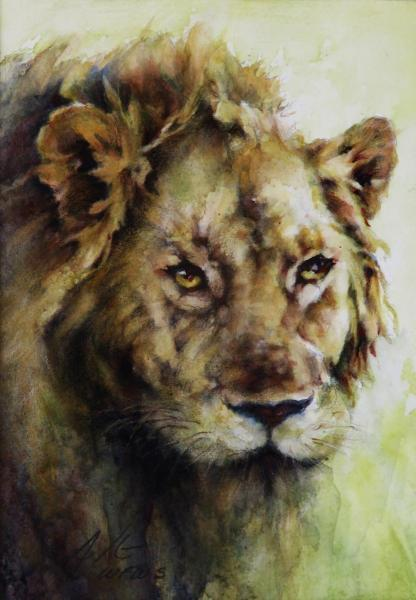 Strength of a Lion by Ann Slater