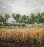 Honorable Mention Miniatures - Near Versailles by Rebecca McCullough