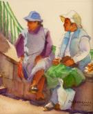 Peruvian Women by Pat Dispenziere
