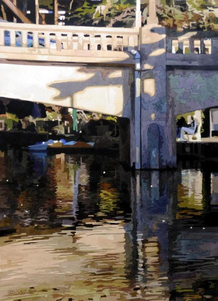 First Place - The Bridge at Capitola by Charles Henry Rouse