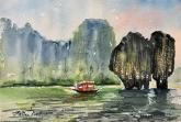 Ha Long Bay by Minnie Valero