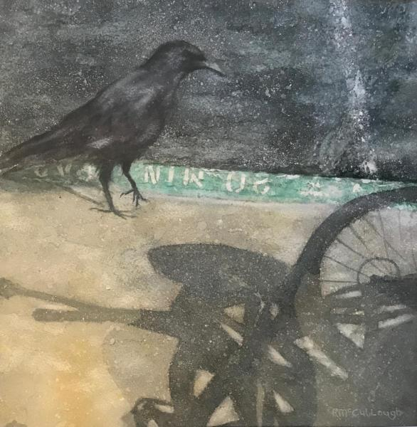 Crow in the City by Rebecca McCullough