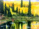 Golden Aspens by Jessie Davenport