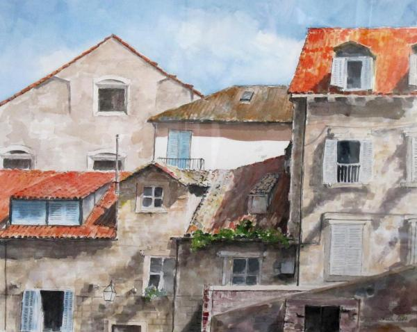 Roofs of Dubrovnik by Charles Held