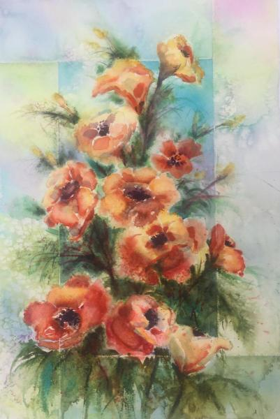 Salted Poppies! by Lorri Lynch