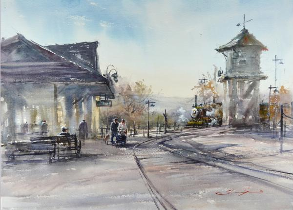 Honorable Mention - Old Poway by Shuang Li