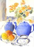 The Blue Teapot by Susan Weinberg-Harter