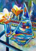 Honorable Mention - Reflections in glass by Angela Westengard