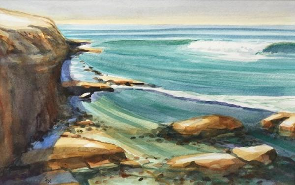 Cliffside Morning by Joanne Newman