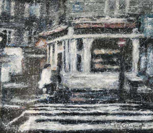 Rain in Paris by Rebecca McCullough