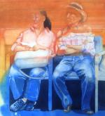 Honorable Mention - Waiting Game by Susan Hewitt