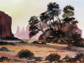 Juror Commendation - Monument Valley by Susan Wormsley