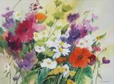 Juror Commendation - Flower Garden Color by Joan McKasson