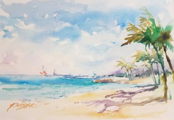 Hawaiian Sails by Jami Wright