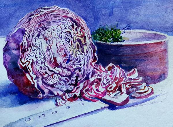 Chopped Cabbage by Glory Giffin
